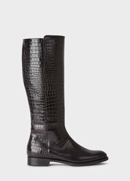 Nicole Long Boot, Black, hi-res