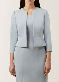 Harper Jacket, Pale Blue, hi-res