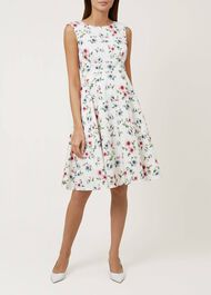 Nova Dress, Ivory Multi, hi-res