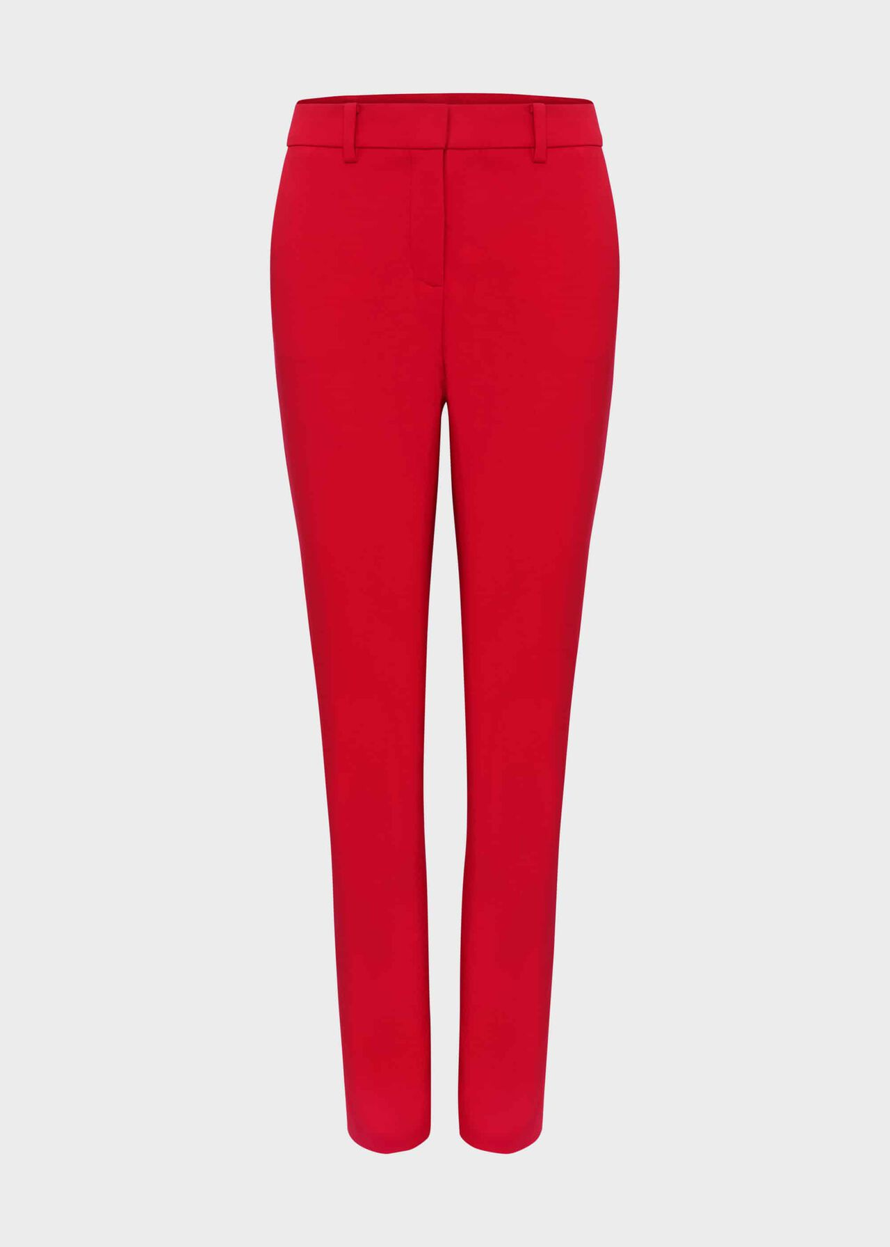 Iva Slim Trousers With Stretch Red