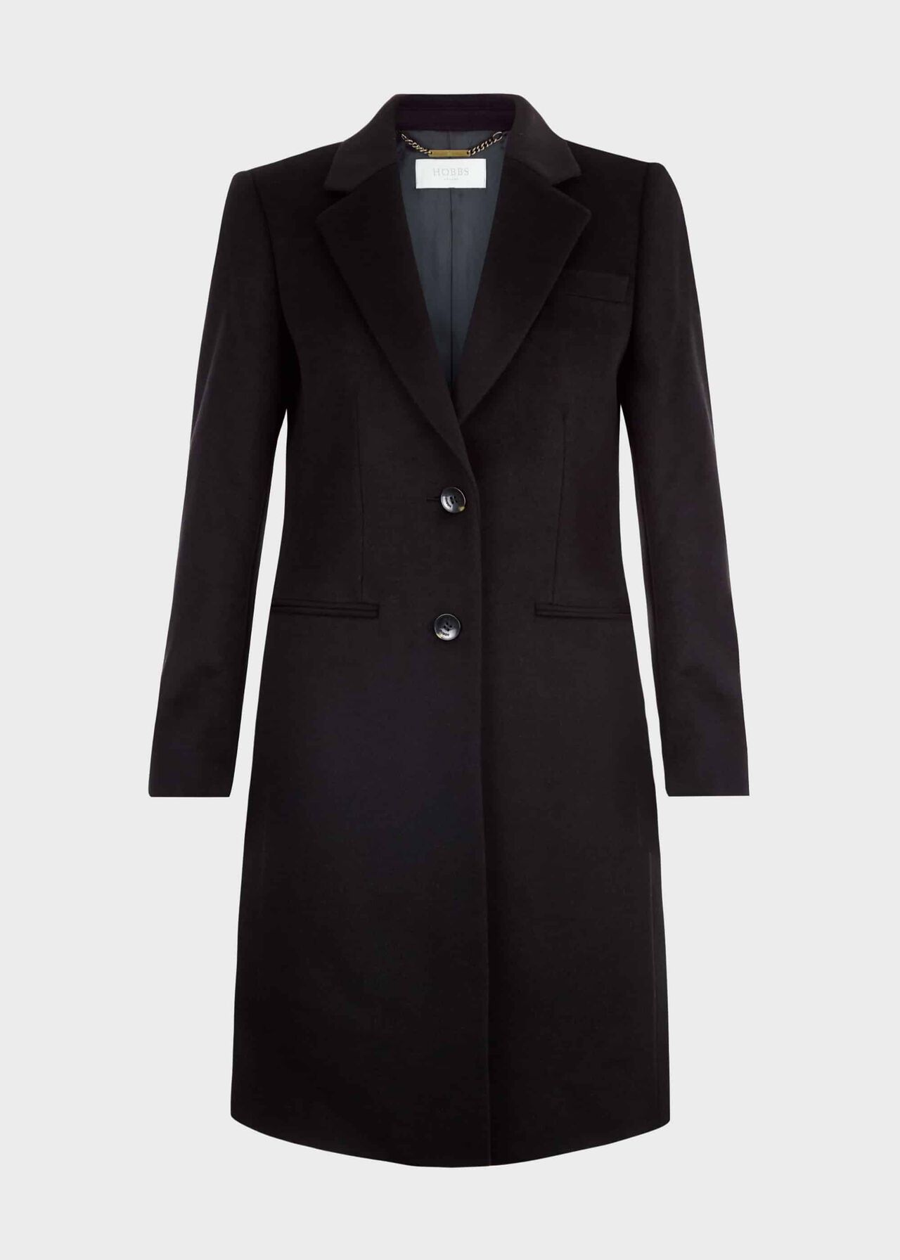 Tilda Wool Coat Black