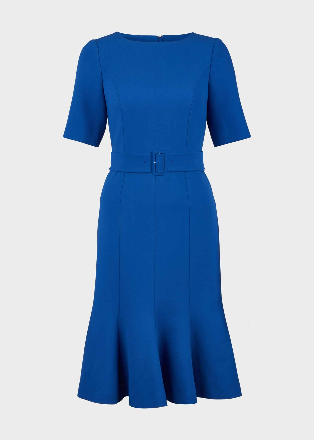 Bria Belted Dress Cobalt