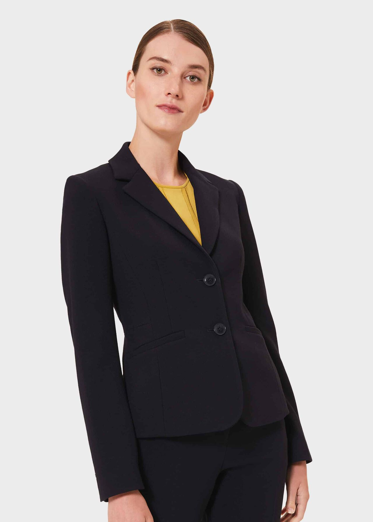 Leila Jacket, Navy, hi-res