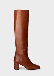 Imogen Knee Boot, Tan, hi-res