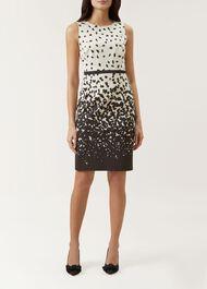 Arabella Dress, Ivory Multi, hi-res