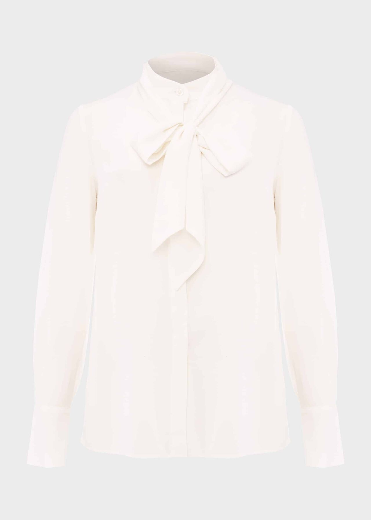 Beatrice Silk Blouse Ivory