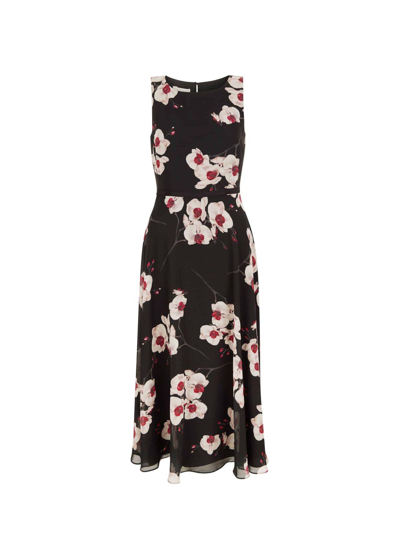 Carly Dress Black Multi