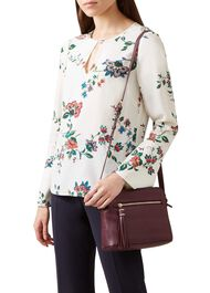 Helmsley Leather Satchel Bag , Mulberry, hi-res