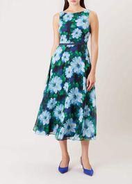 Carly Dress, Blue, hi-res