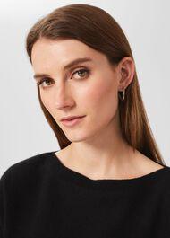 Corinna Earring, Silver, hi-res
