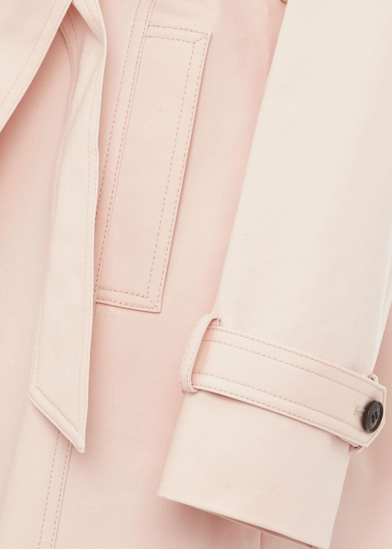 Raegan Water Resistant Mac, Pale Pink, hi-res