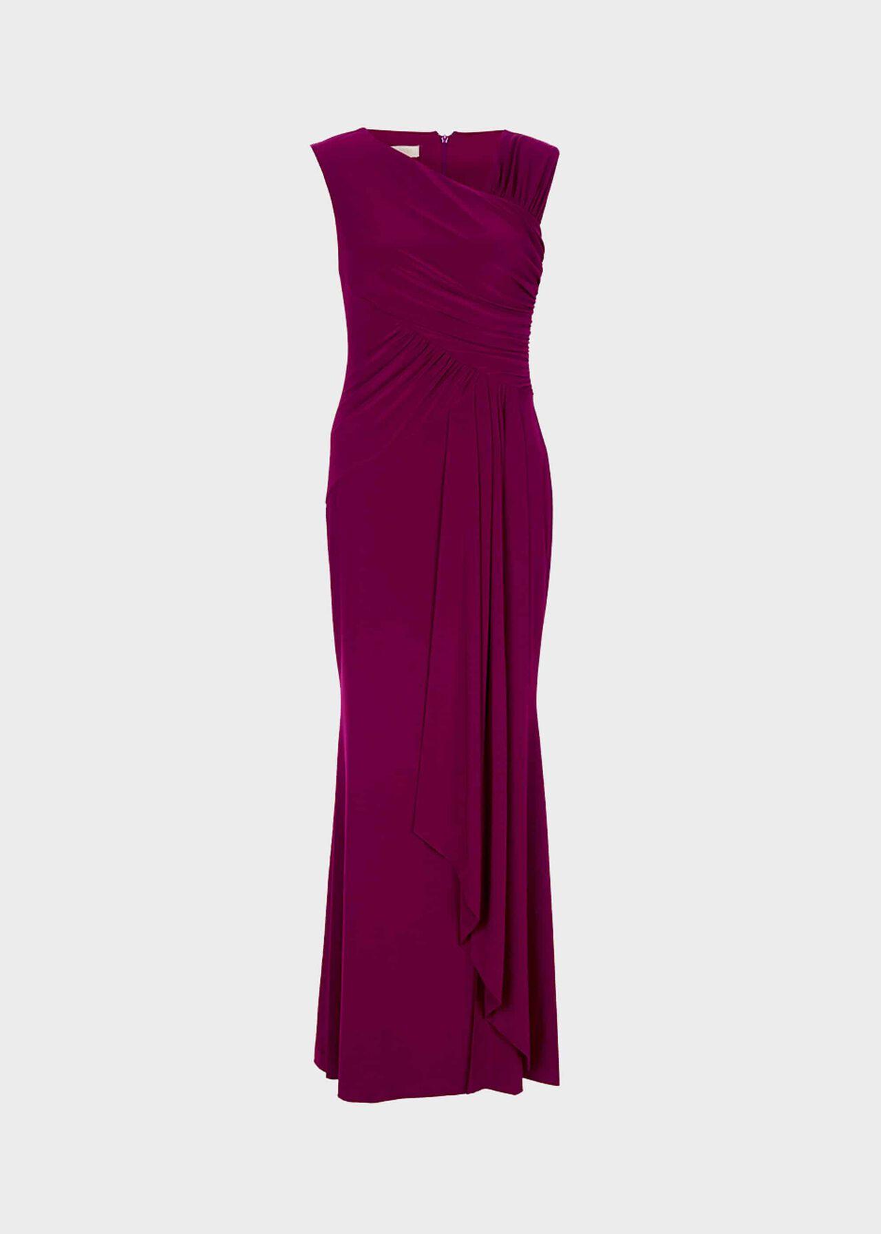 Niamh Maxi Dress Plum