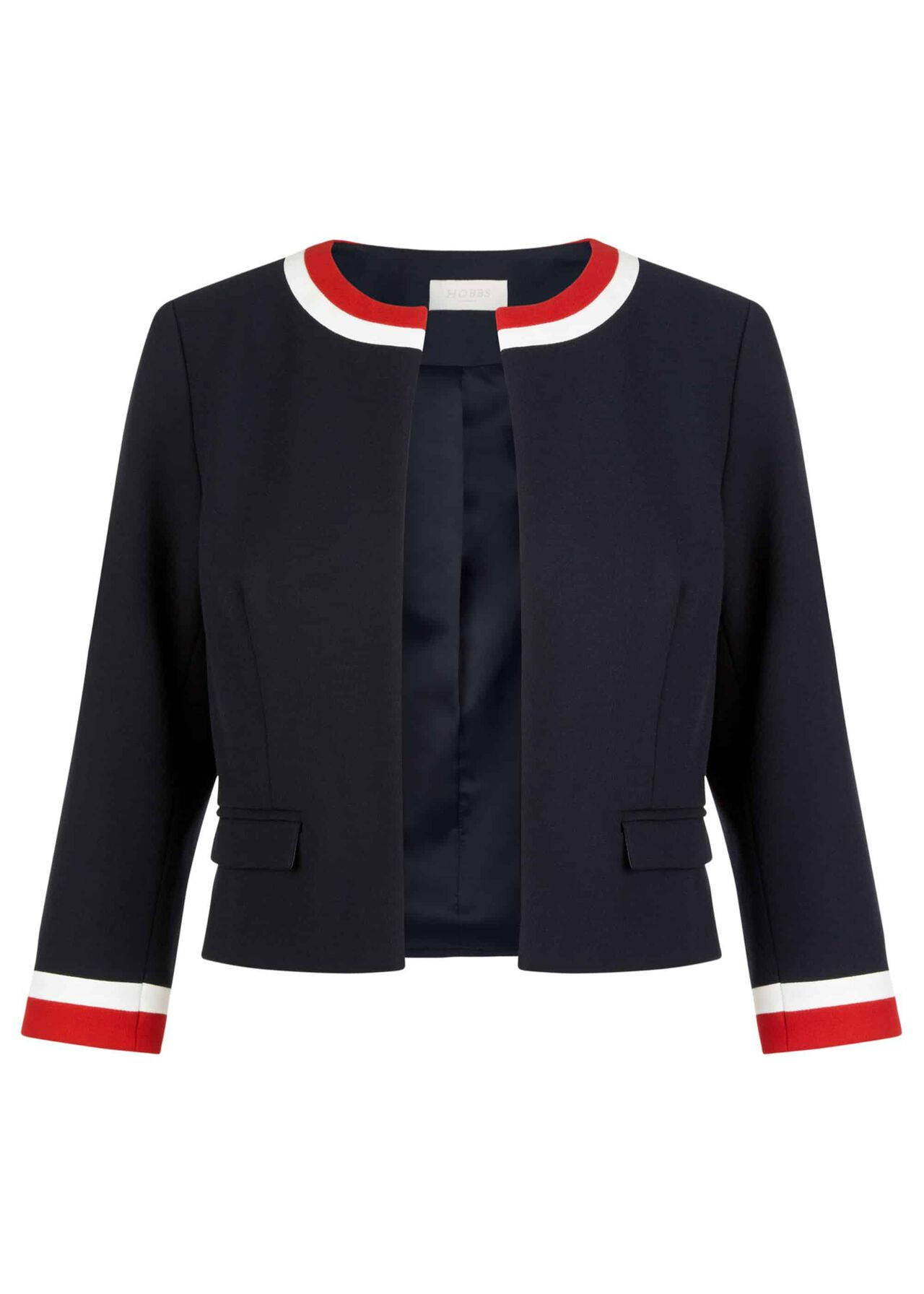 Annabel Jacket Navy Red