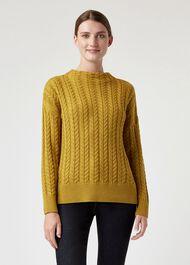 Abigail Sweater, Dijon, hi-res
