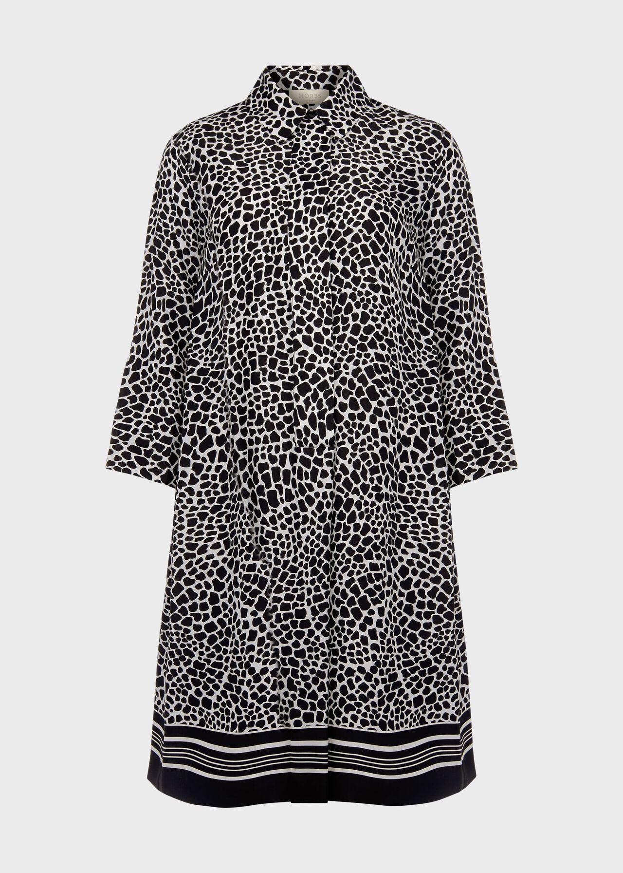 Marci Tunic Dress Black Ivory