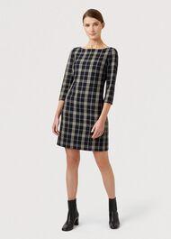 Carolina Dress, Navy Stone, hi-res