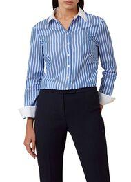 Annabella Shirt, Blue Ivory, hi-res