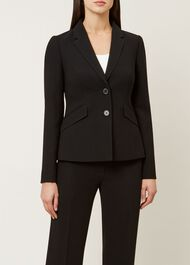 Mina Jacket, Black, hi-res