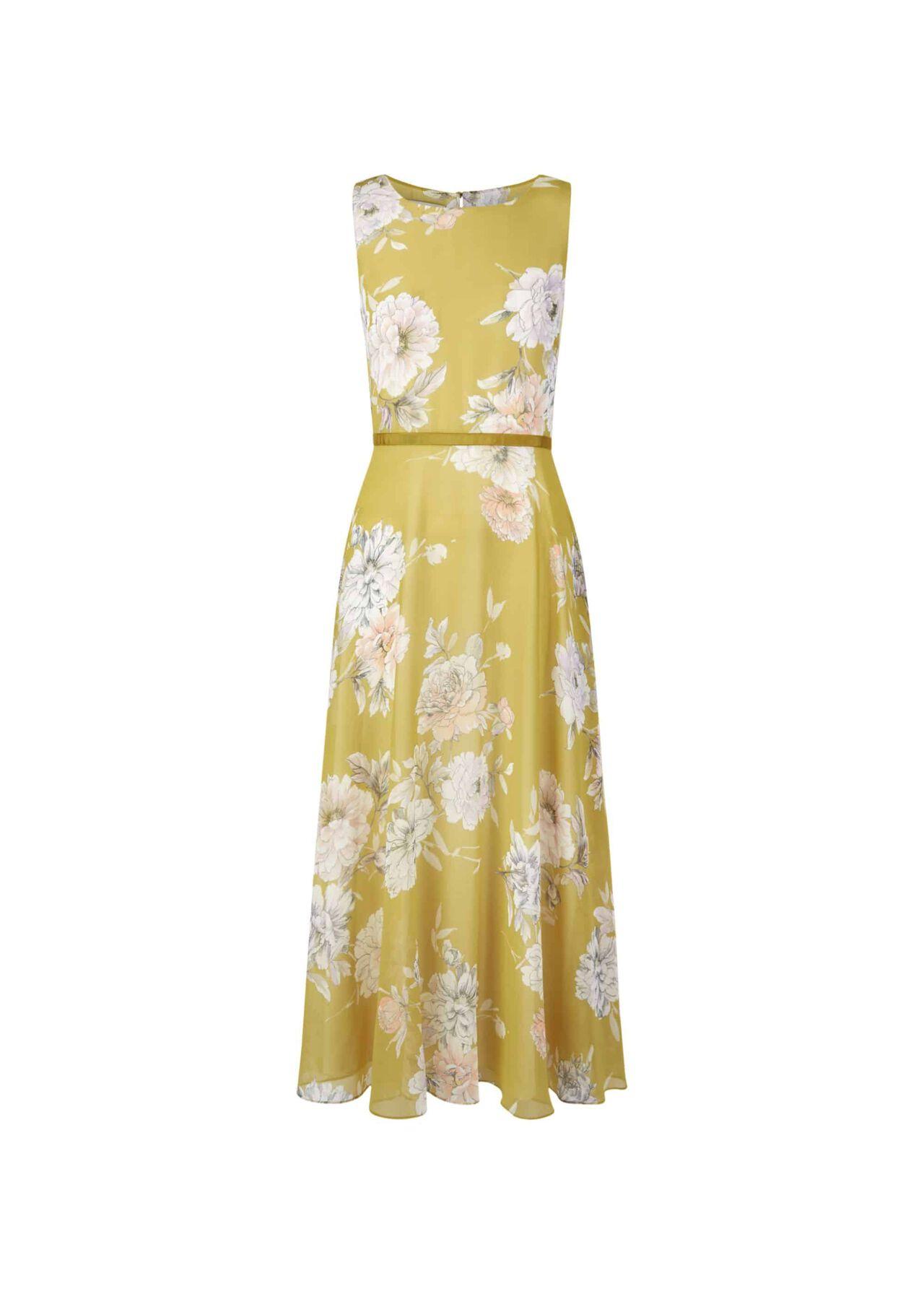 Carly Dress Citrine Multi