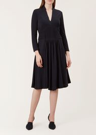 Gwyneth Dress, Navy, hi-res