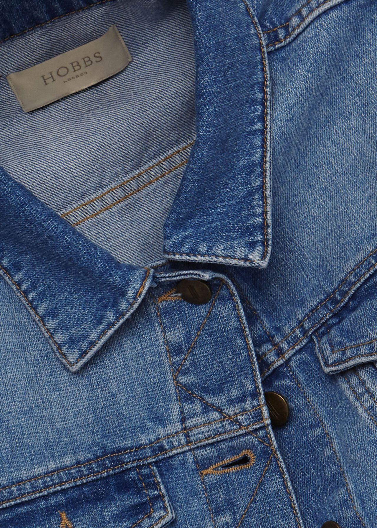 Mariam Denim Jacket, Blue, hi-res