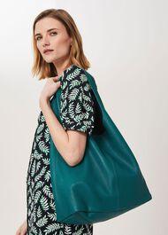Lula Leather Hobo Bag , Seaweed, hi-res