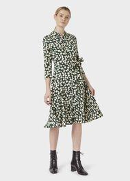 Petite Alex Dress, Green Stone, hi-res
