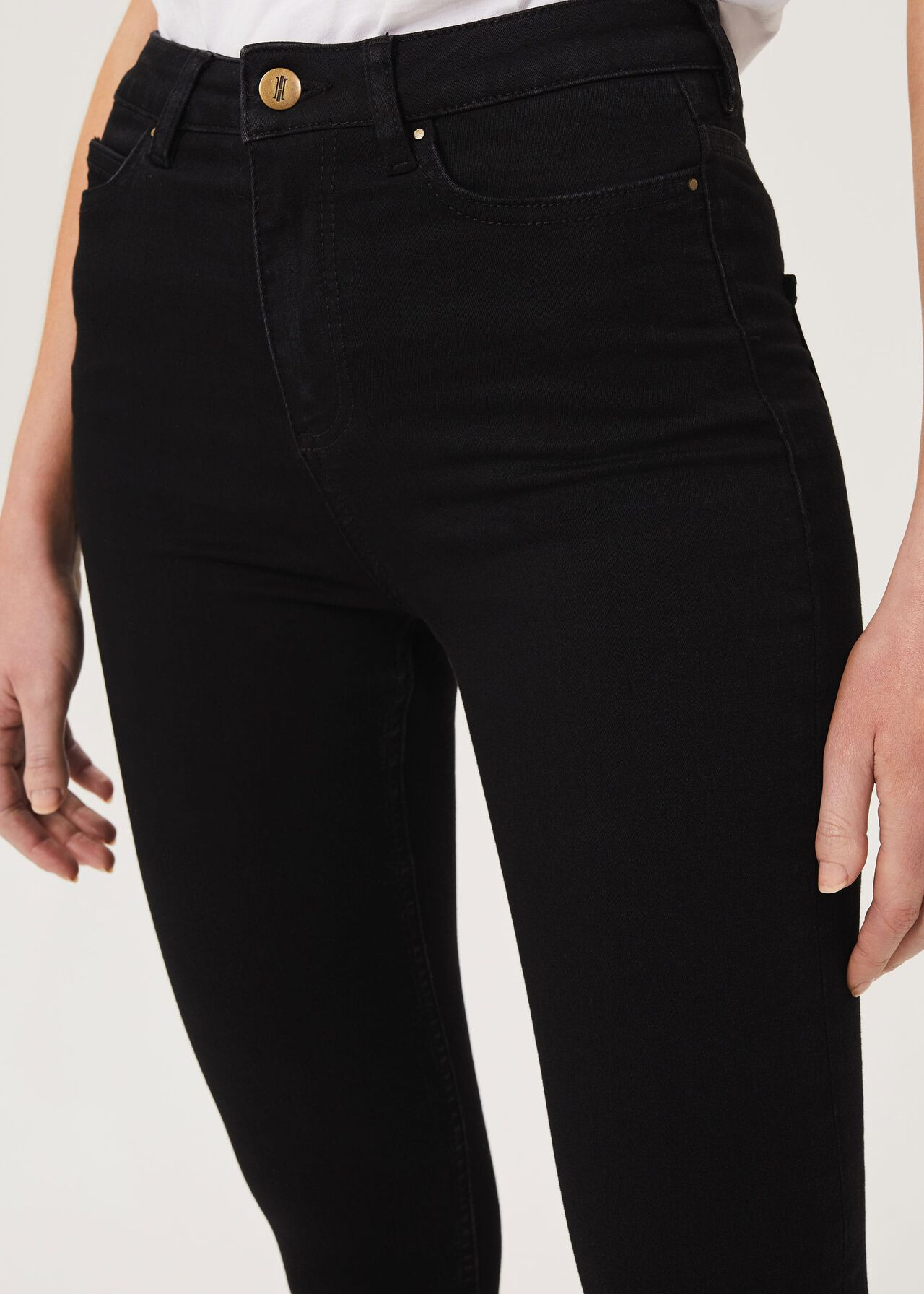 Gia Sculpting Jean With Stretch, Black, hi-res