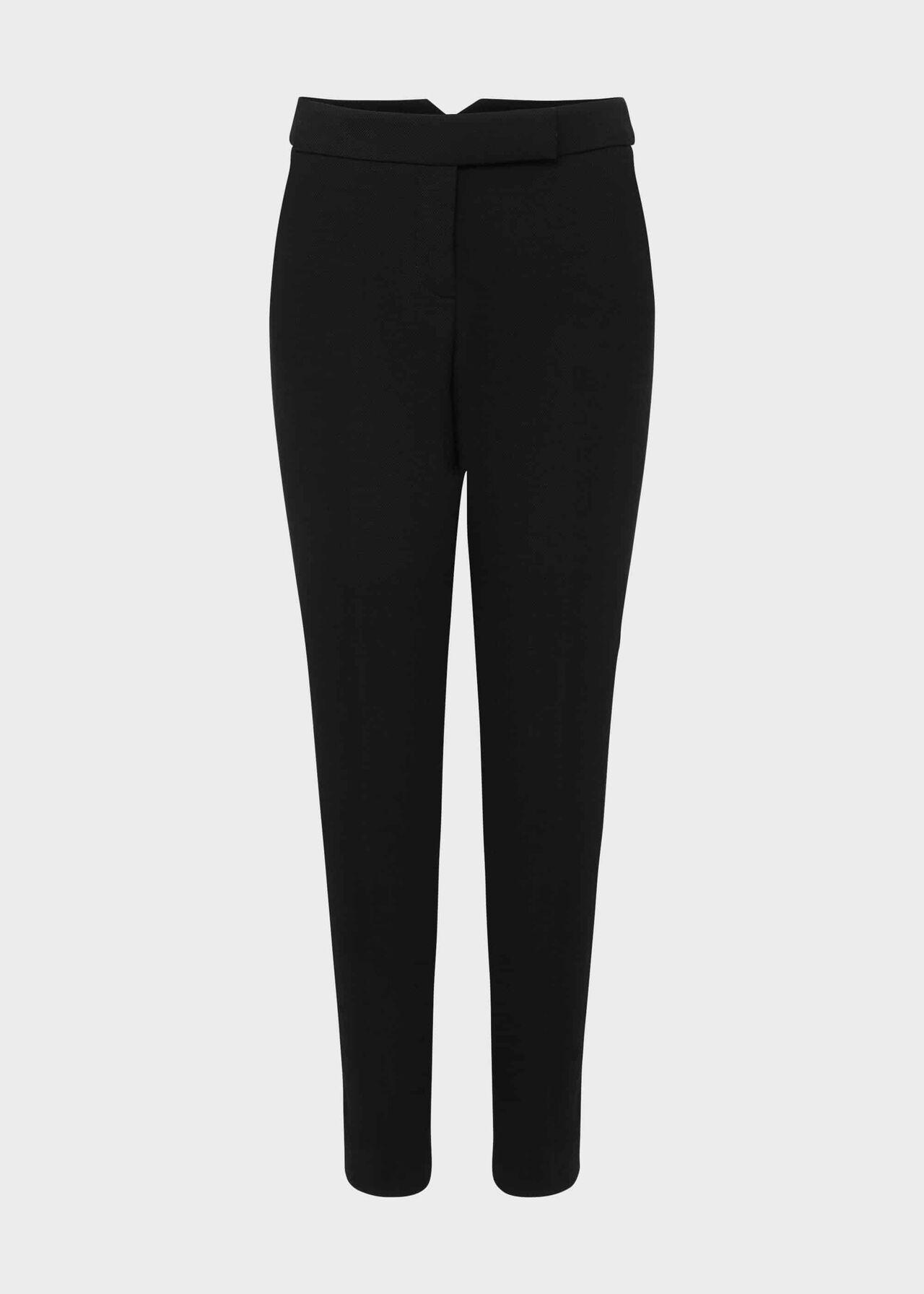 Ophelia Slim Trousers With Stretch Black