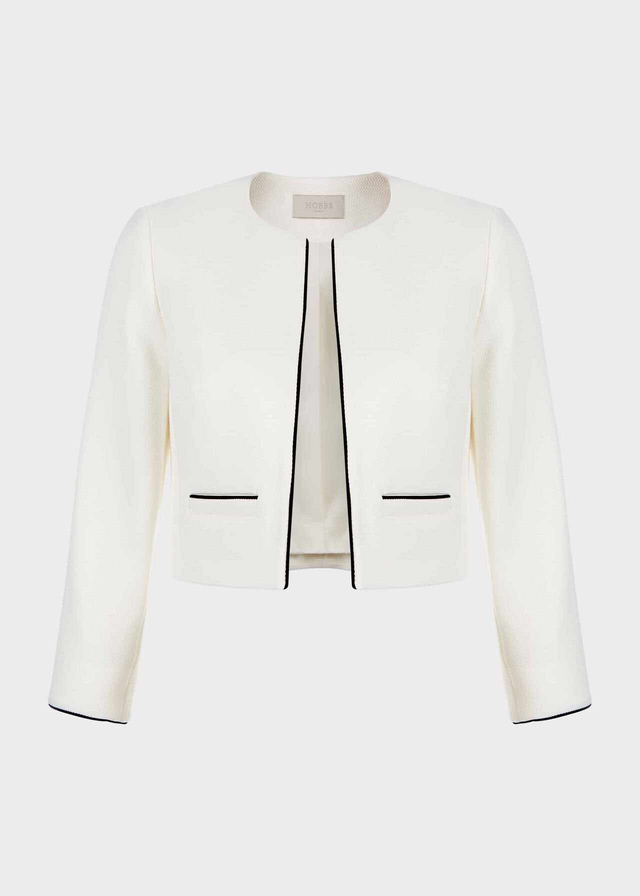 Oaklynn Jacket Ivory Black