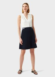 Sorcha Skirt, Navy, hi-res