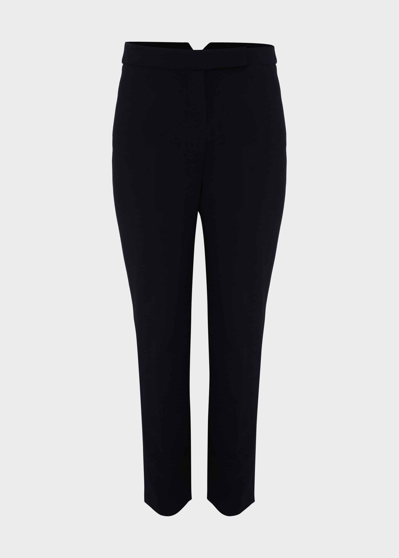 Leila Slim trousers With Stretch Navy