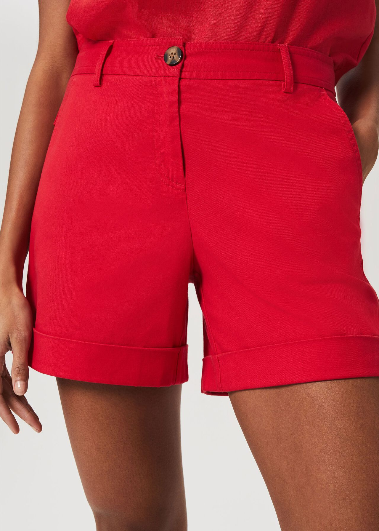 Chessie Shorts, Coral Red, hi-res