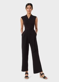 Madelyn Jumpsuit, Black, hi-res