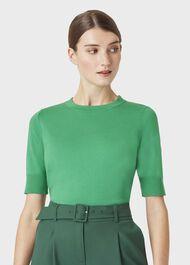 Paula Sweater, Green, hi-res