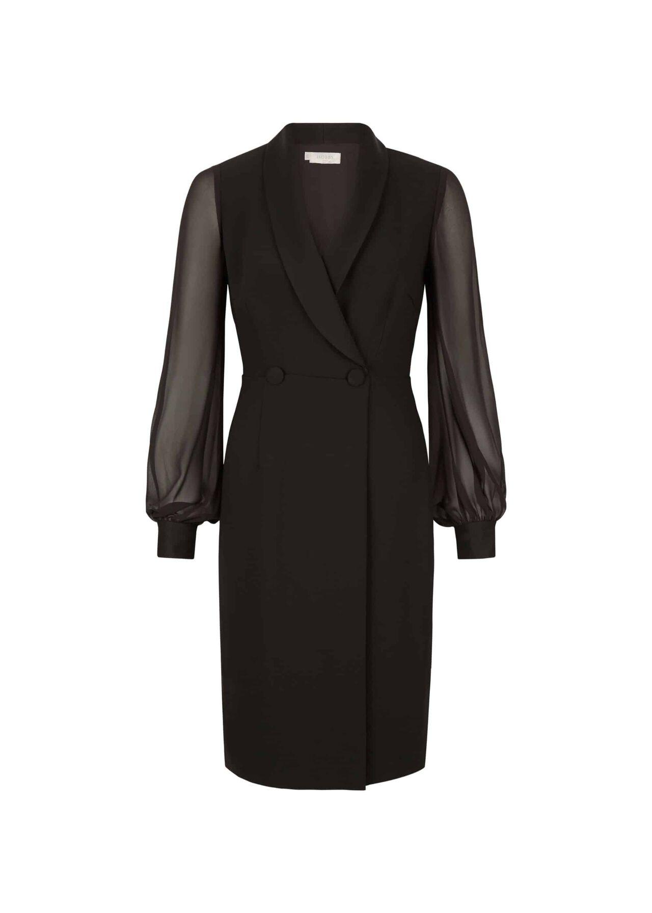Lana Tux Dress Black