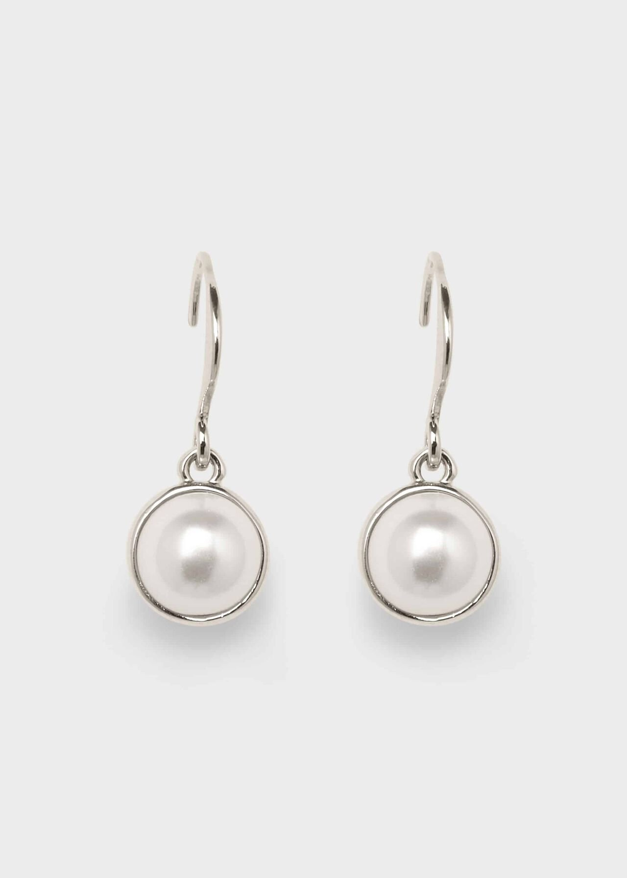 Heather Earring, Pearl, hi-res