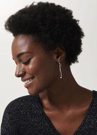 Gwen Earring, Silver, hi-res