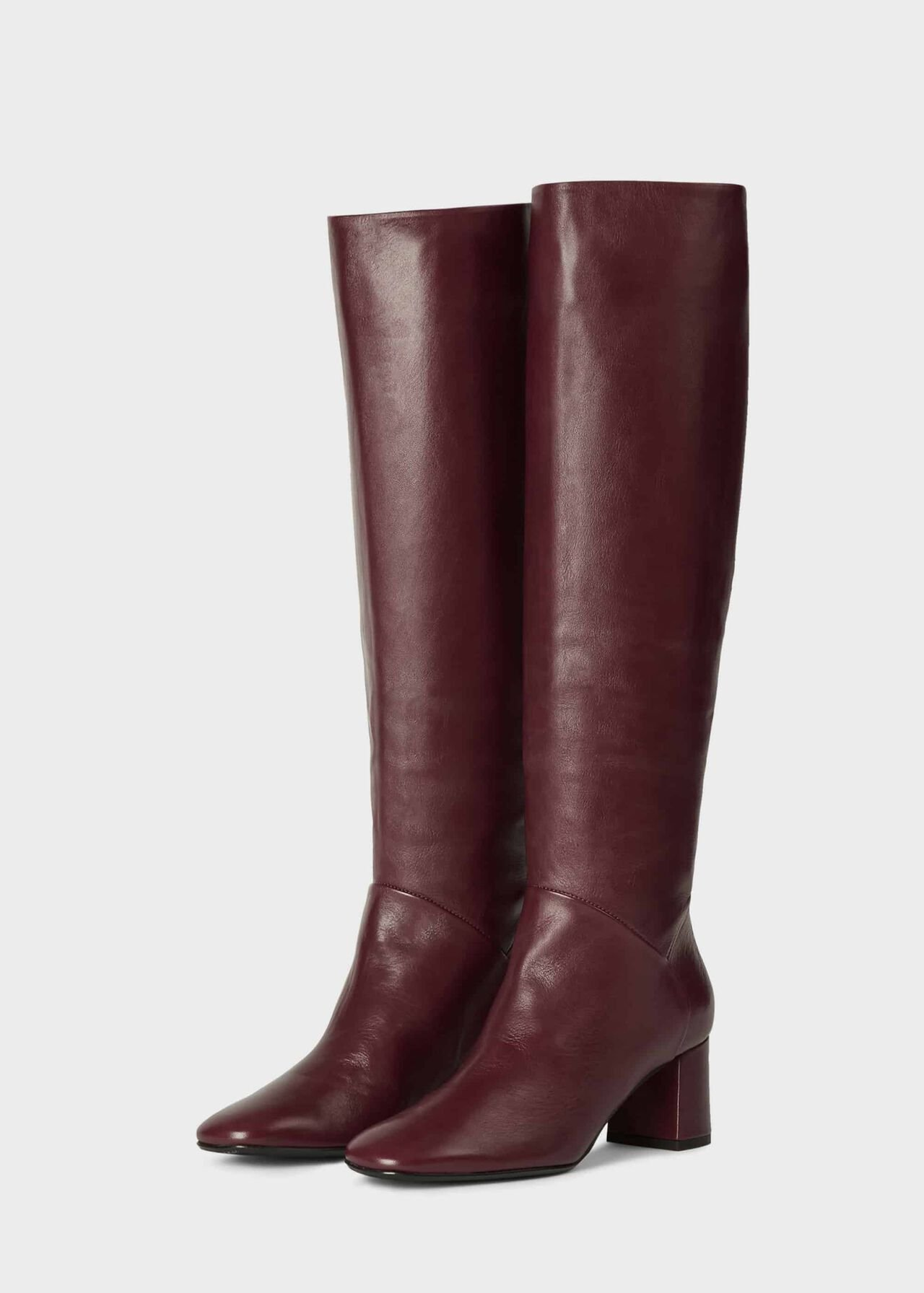 Imogen Knee Boot Burgundy