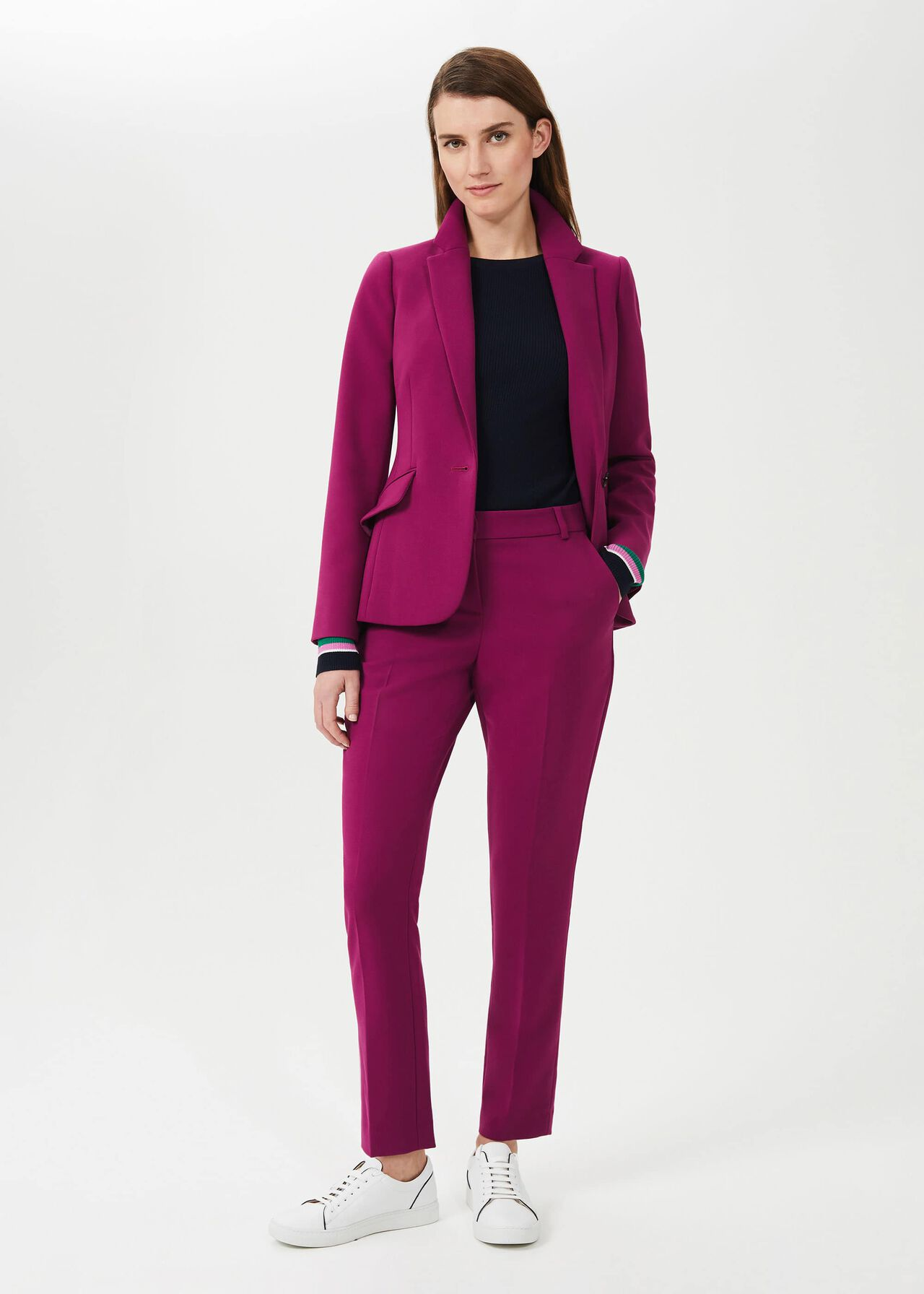 Suki Slim Trouser Suit, , hi-res