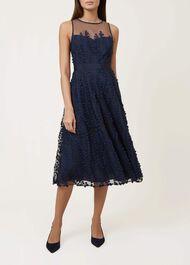 Felicity Dress, Navy Multi, hi-res