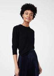Kia Sweater With Wool, Black, hi-res