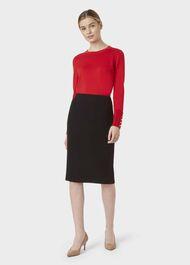 Alva Skirt, Black, hi-res