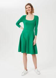 Petite Cassie Dress, Apple Green, hi-res