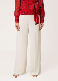Caroline Trousers, Ivory, hi-res