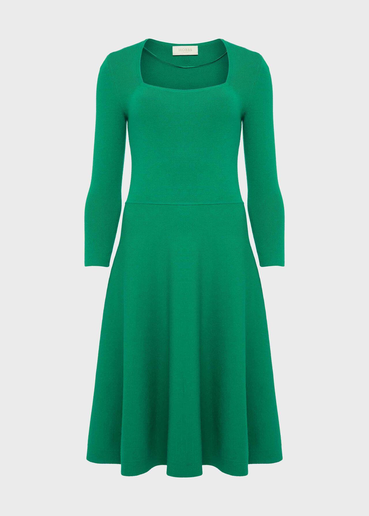 Petite Cassie Dress Apple Green