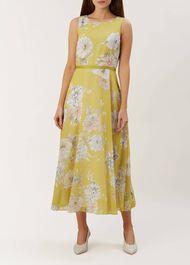 Carly Dress, Citrine Multi, hi-res