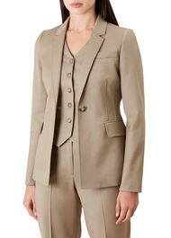 Penelope Wool Blend Jacket, Neutral, hi-res