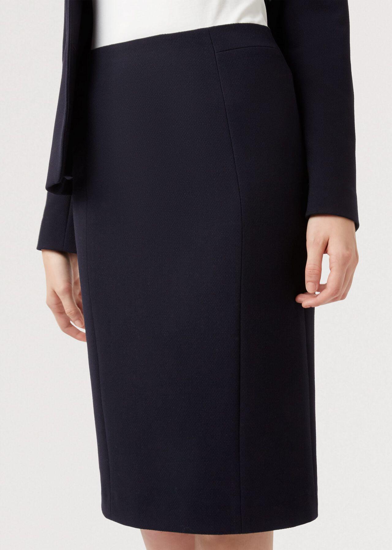 Petite Leila Skirt, Navy, hi-res