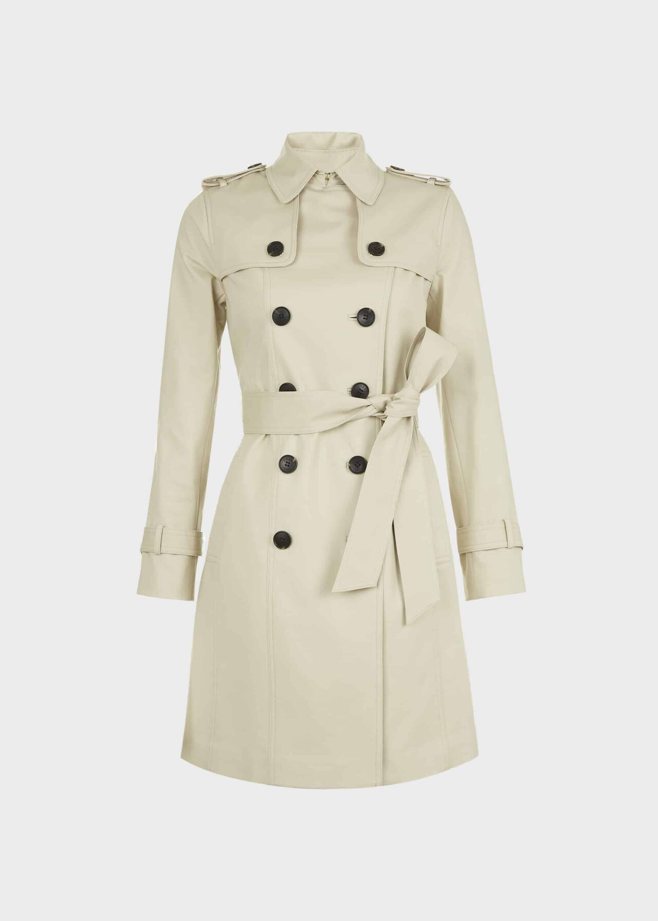 Petite Saskia Trench Coat New Neutral